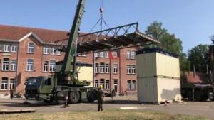 Defensie bouwt baileybrug