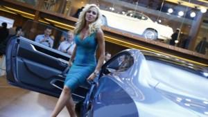 Steeds minder auto's op internationale autosalons