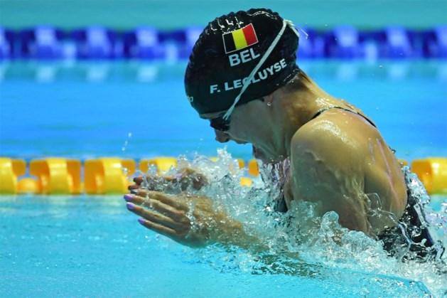 WK ZWEMMEN. Lecluyse in halve finales 200m schoolslag, Dumont uitgeschakeld ondanks Belgisch record