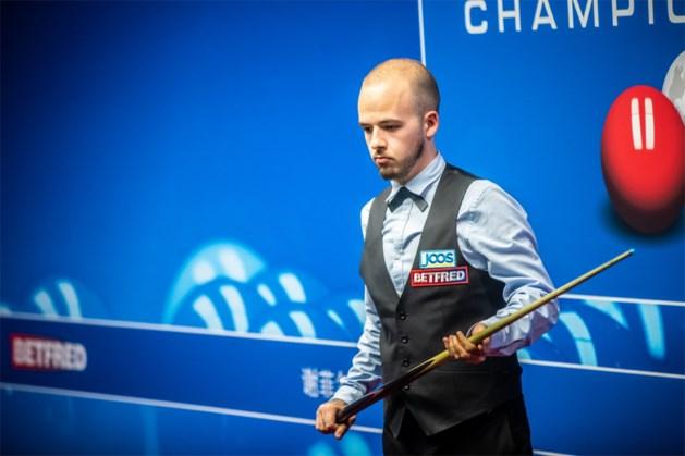 Luca Brecel gaat meteen onderuit in Riga Masters snooker