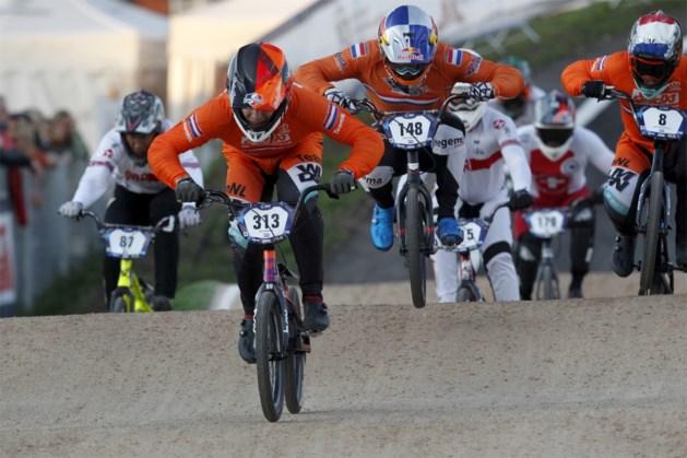 WK BMX. Nederlander Van Gendt en Amerikaanse Willoughby pakken titel in Heusden-Zolder