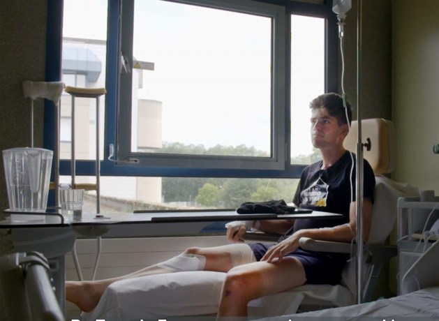 Wout van Aert mag dinsdag ziekenhuis in Pau verlaten