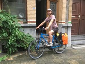 Bram van Bree fietst 1.250 kilometer van Bree naar Bram