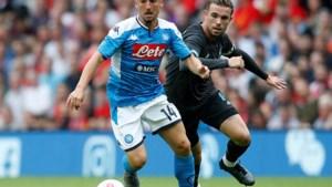Dries Mertens geeft mooie assist in klinkende zege tegen Liverpool, Carrasco wint in China van Fellaini