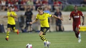 Dortmund moet Thorgan Hazard niet lang missen met lichte enkelblessure