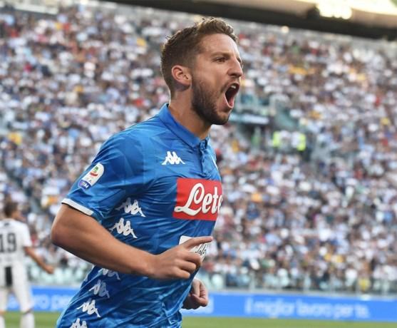Dries Mertens moet met Napoli al op tweede speeldag naar kampioen Juventus