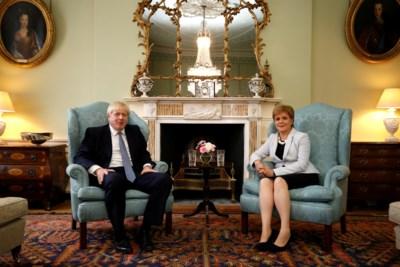 Schotland Lust Johnson Niet Gevaarlijke Regering Het