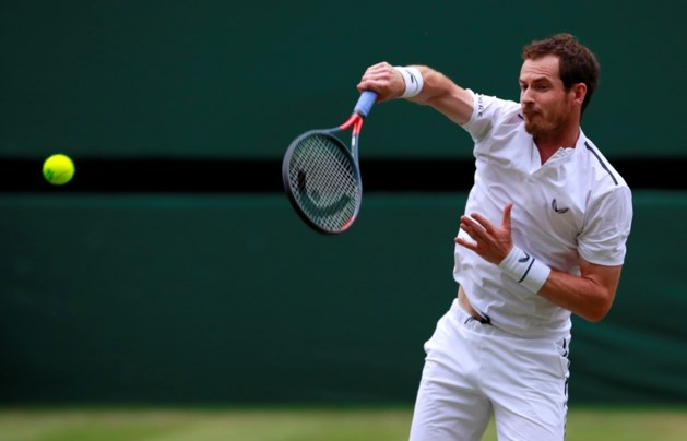 Andy Murray staat dicht bij comeback in enkelspel