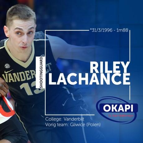 Riley LaChance naar Okapi Aalstar