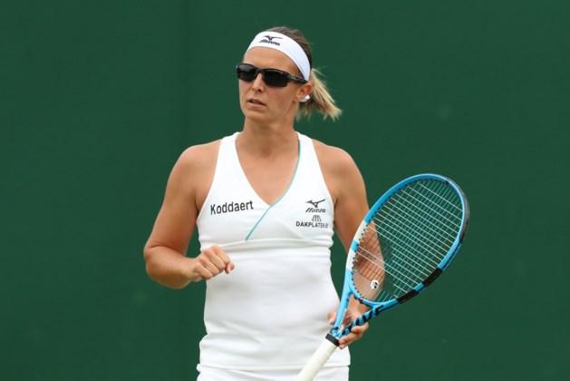 Kirsten Flipkens uitgeschakeld in eerste ronde WTA Washington