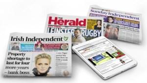 Stoelendans bij Ierse mediabedrijf INM na overname door Mediahuis