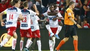 Ilombe Mboyo is redder in nood voor KV Kortrijk: Kerels pakken in slotfase nog puntje tegen sterk Charleroi