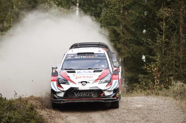 Tänak opnieuw aan de leiding in Rally van Finland, Neuville schuift op naar zevende plaats