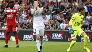 Vertimmerd Anderlecht kan ook niet winnen van Moeskroen en blijft achter met één op zes