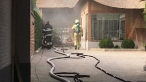 Brand in schrijnwerkerij in Zussen