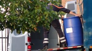 Bestelwagen met 5 drugsvaten in beslag genomen dankzij optreden De Romeo's