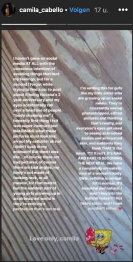 """'Te dikke' zangeres reageert scherp op 'body shamers': """"Mijn lichaam is niet gemaakt van steen"""""""