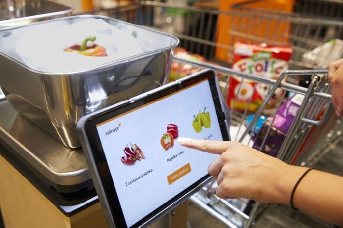 Appel of peer? Colruyt test automatische herkenning van groenten en fruit aan kassa