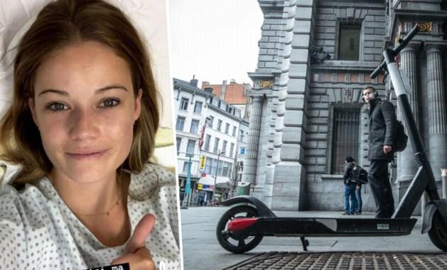 Belgische Instagramster komt bijna om na botsing met step