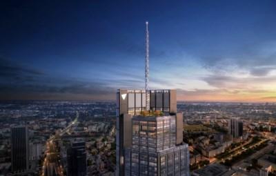 Genkse Tectum bouwt mee aan hoogste wolkenkrabber van Europese vasteland