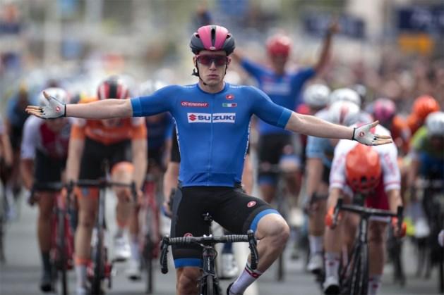 """Italiaan Alberto Dainese pakt goud op EK bij de beloften, Gerben Thijssen teleurgesteld met plek zes: """"Ik wilde Bjorg Lambrecht eren"""""""