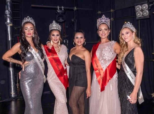 Vicky Sagang scoort met 4 meisjes op internationale missenverkiezing in Riga