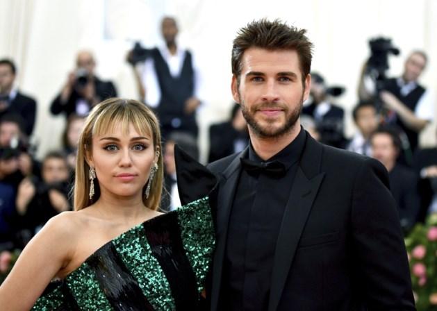 Huwelijk Miley Cyrus al na 8 maanden voorbij