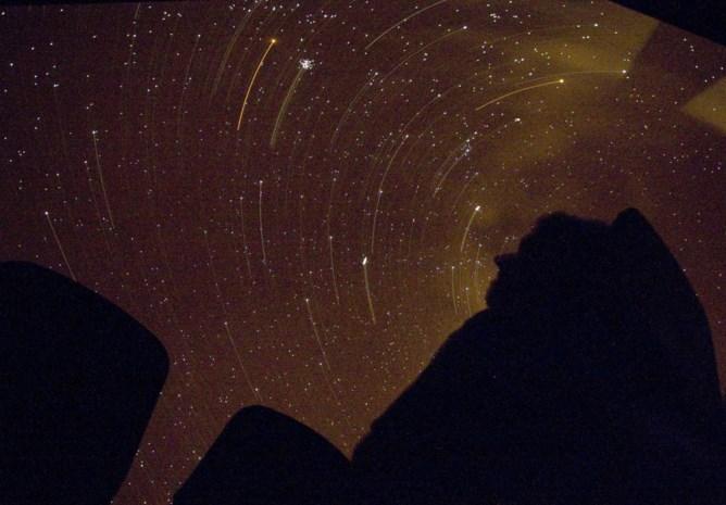 Felle maan verstoort 'wensen- sterrennacht'