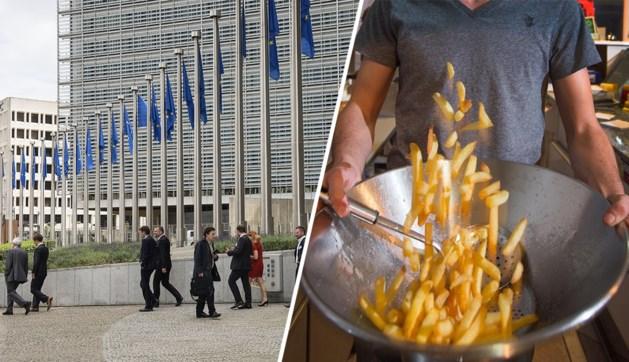 Europese ambtenaren boos: portie frieten wordt 50 cent duurder in de kantine