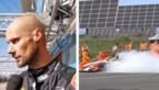 Zo brandde de auto van Tom Boonen uit tijdens 24U van Zolder