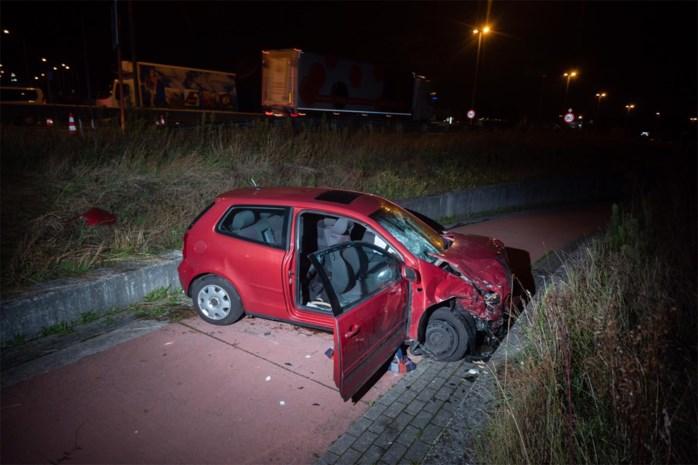 Vier gewonden na botsing tussen twee auto's in Genk