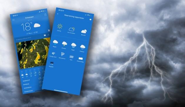 Iedereen weerman (of -vrouw): KMI laat gebruikers waarnemingen doorsturen via nieuwe app