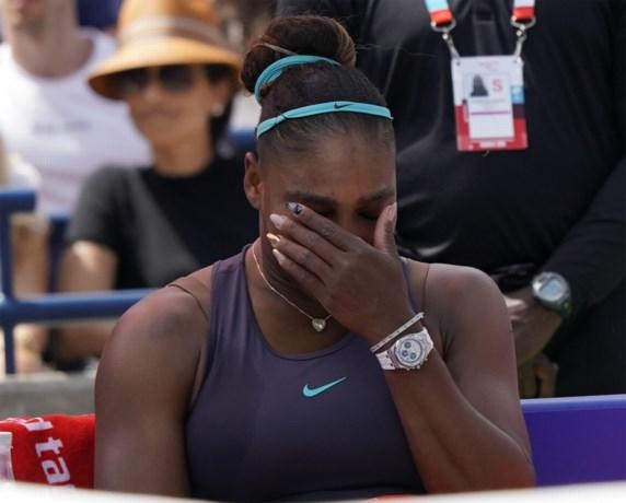 Serena Williams geeft forfait voor Cincinnati