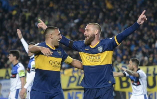 Scorende De Rossi ziet debuut bij Boca Juniors in enorme blamage eindigen