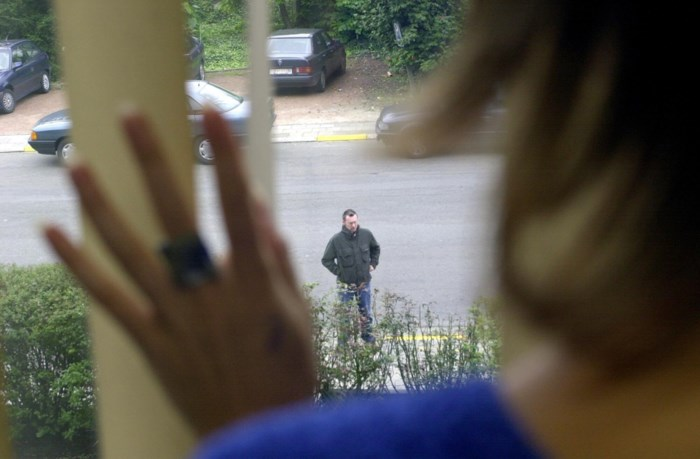 Twee jaar cel voor stalker die binnendringt langs dak