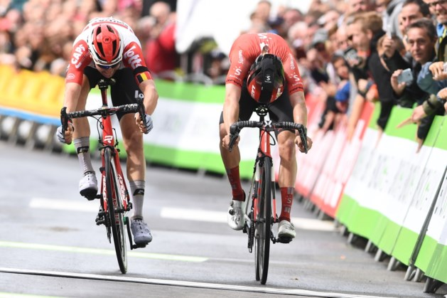Tim Wellens eert ploegmaat Bjorg Lambrecht met zege in Ardennen-etappe BinckBank Tour, hij is ook de nieuwe leider