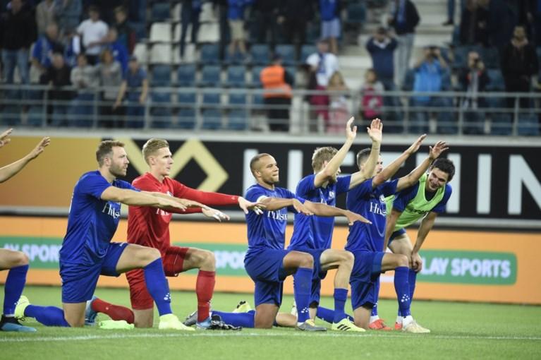 AA Gent naar laatste voorronde Europa League