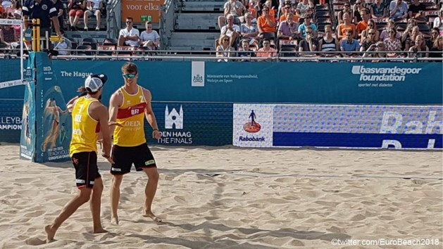 World Tour beachvolley Moskou: Koekelkoren en Van Walle als groepswinnaar naar achtste finales