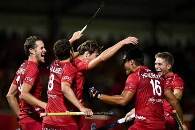 Red Lions beginnen EK Hockey met 5-0-zege tegen Spanje