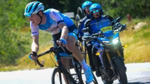 Na de tweede wint Ben Hermans ook de derde etappe in de Ronde van Utah en wordt steviger leider