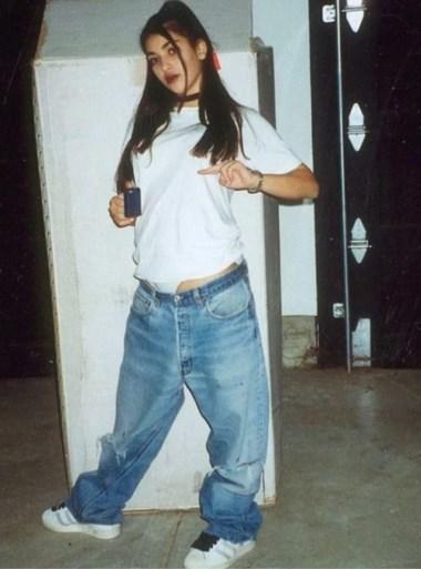 Kim Kardashian onherkenbaar op jeugdfoto's