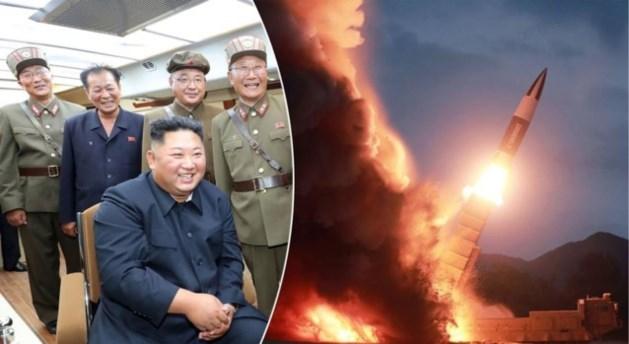 Noord-Korea vuurt twee onbekende projectielen af
