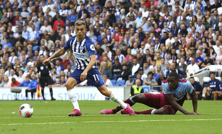 Eerste treffer Trossard in Premier League is meteen een pareltje