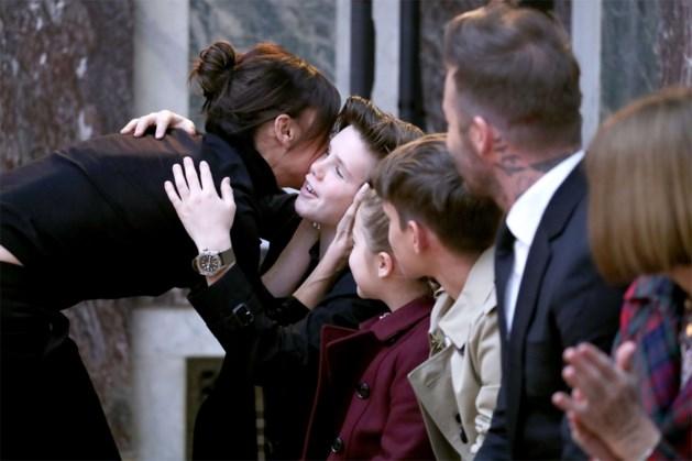 Beckhams genieten van vakantie in Italië en delen vertederende foto's