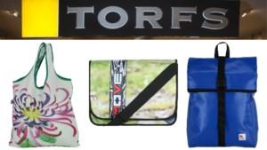 Torfs gaat duurzame, Hasseltse 'Flagbag'-producten verkopen