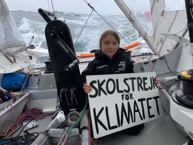"""""""Greta Thunberg stoot meer CO2 uit met zeiltocht naar New York dan met vlucht"""""""
