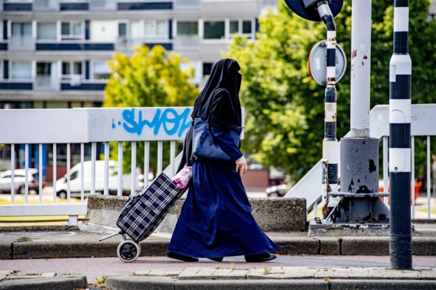 Vrouw met nikab uit bus gezet in Stein