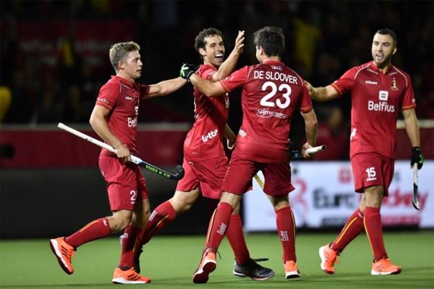Red Lions geven Wales pak voor de broek en sluiten groepsfase op EK hockey af met maximum van de punten