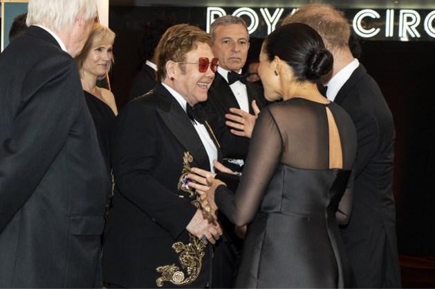 Elton John neemt verdediging van Meghan Markle en prins Harry op zich