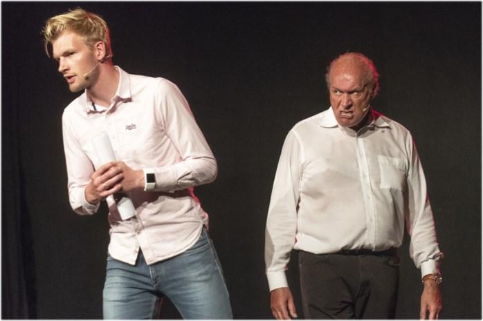 Ruben Van Gucht wil meer geld en laat grote held Jacques Vermeire alleen op podium